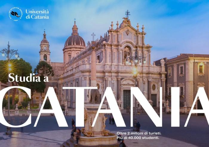 Universität Catania – Werbung, Quelle: Università di Catania