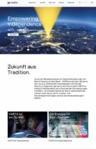 Varta AG Website