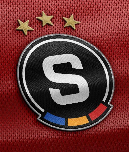 Sparta Prag – Logo auf Trikot, Quelle: Sparta Prag