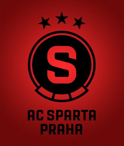Sparta Prag – Logo (negativ), Quelle: Sparta Prag