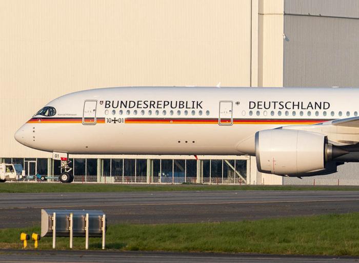 A350 Luftwaffe mit Bundes Sans (03/2021)