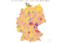 Coronavirus Neuinfektionen Deutschland Karte – Süddeutsche