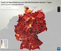 Coronavirus Neuinfektionen Deutschland Karte – Tagesschau