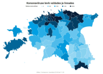 Coronavirus Neuinfektionen in Estland