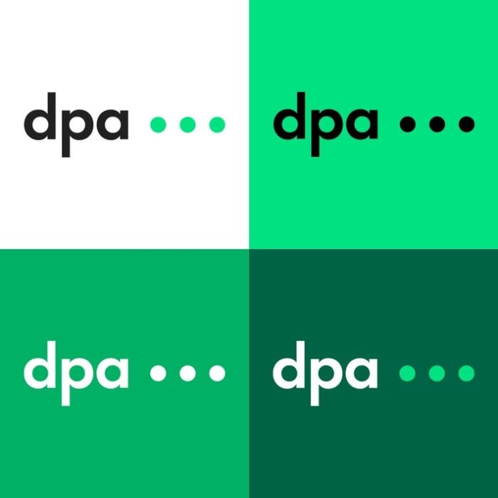 dpa Logovarianten, Quelle: dpa