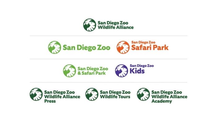 San Diego Zoo Wildlife Alliance Logos