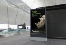 San Diego Zoo Branding – Digital Poster