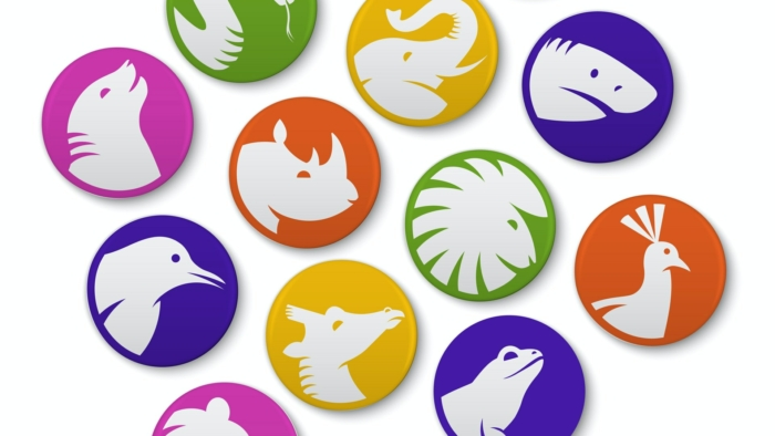San Diego Zoo Branding – Buttons