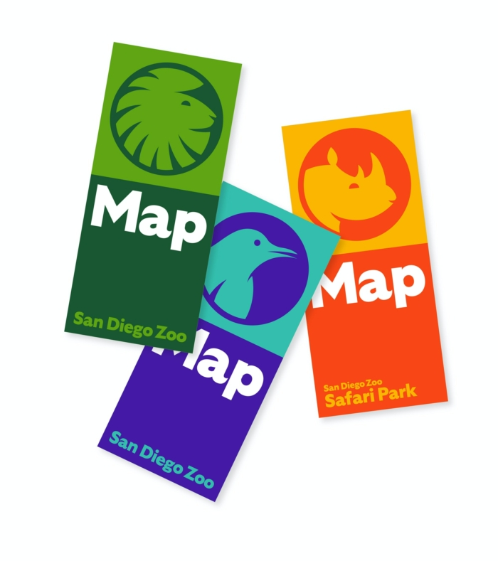 San Diego Zoo Branding – Map