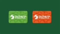 San Diego Zoo Branding – Card