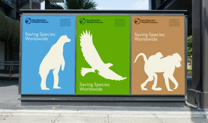 San Diego Zoo Branding – Poster