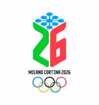"""Milano-Cortina 2026 Logo """"Dado"""", Quelle: milanocortina2026.org"""