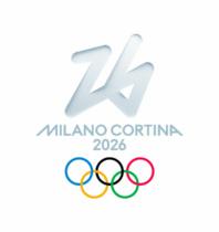"""Milano-Cortina 2026 Logo """"Fortuna"""", Quelle: milanocortina2026.org"""