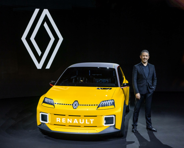 Renault 5 Prototyp – Designer Gilles Vidal, Quelle: Renault