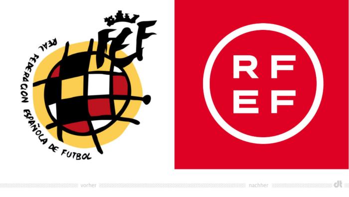 RFEF Logo – vorher und nachher