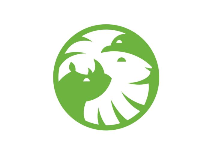 San Diego Zoo Logo Bildmarke