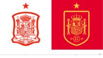 Logo der spanischen Fußballnationalmannschaft – vorher und nachher
