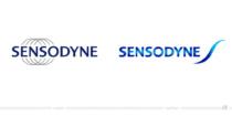 Sensodyne Logo – vorher und nachher, Bildquelle: GlaxoSmithKline, Bildmontage: dt