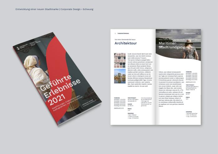 Stade Corporate Design – Broschüre