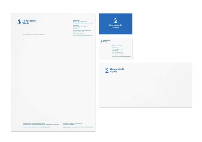 Stade Corporate Design – Geschäftsausstattung