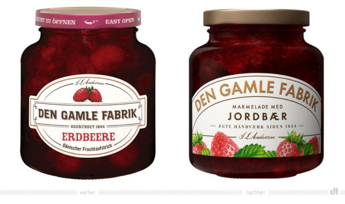 Den Gamle Fabrik Erdbeere – vorher und nachher