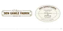 Den Gamle Fabrik Logo – vorher und nachher