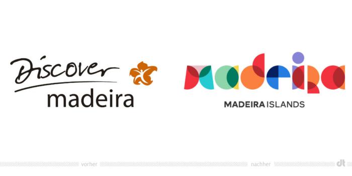 Madeira Logo – vorher und nachher