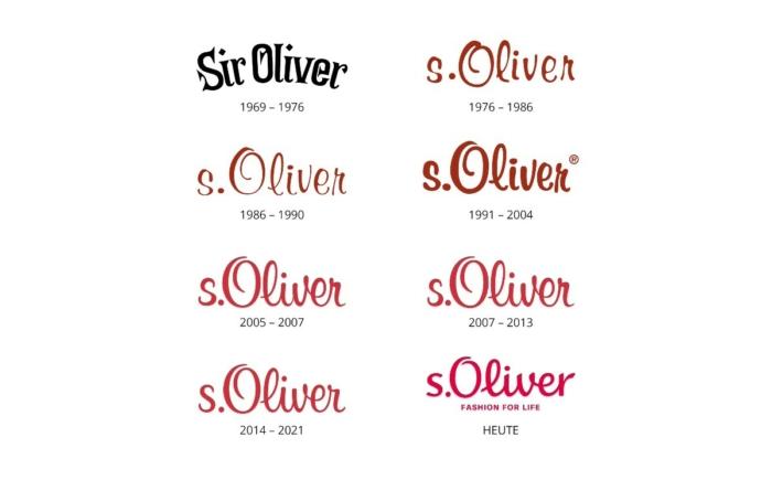 s.Oliver Logo Historie