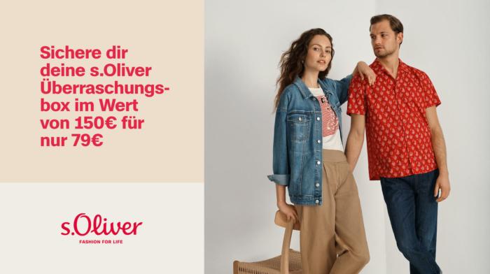 s.Oliver Branding Visual