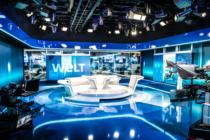 Das neue WELT-Nachrichtenstudio im Axel-Springer-Neubau