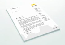Coburg Corporate Design – Briefpapier, Quelle: Stadtverwaltung Coburg
