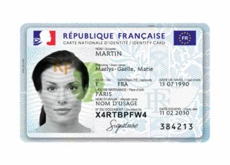 Frankreich Personalausweis, Quelle: Französische Regierung / Wikipedia