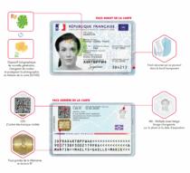 Frankreich Personalausweis Sicherheitsmerkmale, Quelle: Französische Regierung