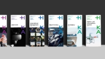 Hochschule Karlsruhe – Corporate Design – Flyer