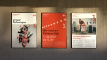 Hochschule Karlsruhe – Corporate Design – Plakate