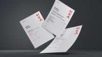 Hochschule Karlsruhe – Corporate Design – Geschäftspapier