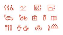 Hochschule Karlsruhe – Corporate Design – Piktogramme