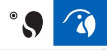 Robinson Club Logo / Papagei– vorher und nachher, Bildquelle: Robinson-Club, Bildmontage: dt