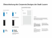 Stadt Luzern – Überarbeitung des Corporate Designs. Quelle: Stadtverwaltung Luzern
