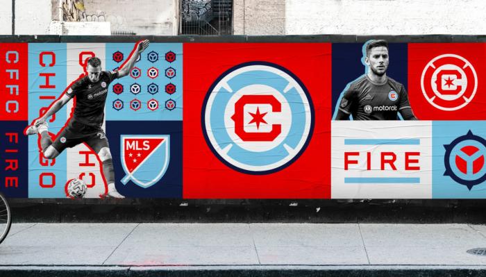 Chicago Fire FC – Branding, Quelle: MLS