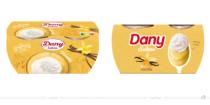Dany Sahne Vanille – vorher und nachher Bildquelle: Danone, Bildmontage: dt