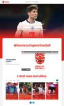 England Football Website