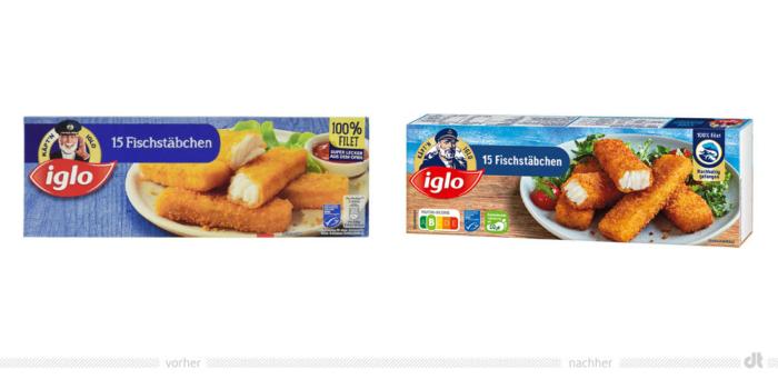 Käpt'n Iglo Fischstäbchen, Bildquelle: Iglo, Bildmontage: dt