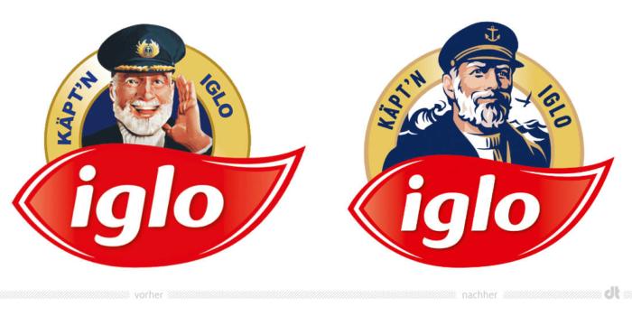 Käpt'n Iglo Logo, Bildquelle: Iglo, Bildmontage: dt