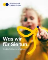 Medienanstalt Rheinland-Pfalz – Broschüre Cover, Quelle: Medienanstalt Rheinland-Pfalz, Foto Cover: Stefan Blume