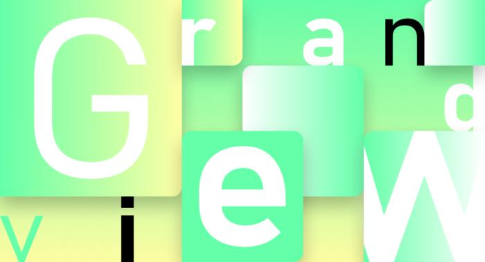 Microsoft Font – Grandview, Quelle: Microsoft