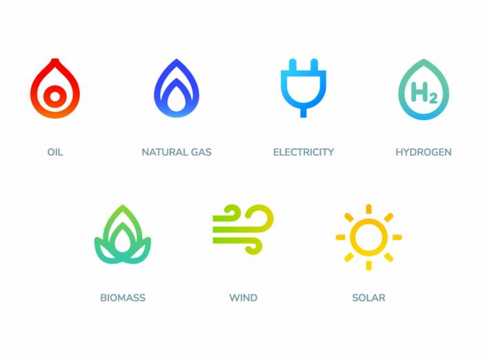 TotalEnergies – Corporate Design, Icons, Quelle: TotalEnergies
