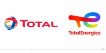 TotalEnergies Logo – vorher und nachher, Bildquelle: TotalEnergies, Bildmontage: dt