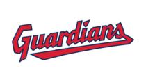 Cleveland Guardians Schriftzug