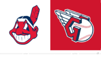 Cleveland Indians/Guardians Logo – vorher und nachher